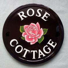 House Plaques, Decoupage, Mini Roses, Climbing Roses, Rose Cottage, Home Signs, Floral Fabric, Decorative Plates, Shabby Chic