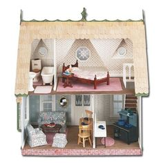 Inside the Orchid Dollhouse.
