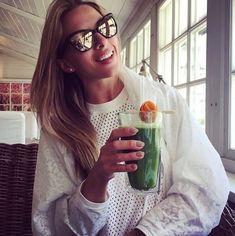 Ewa Chodakowska Kiwi, Go Green, Cocktails, Drinks, Lemonade, Spinach, Smoothie, Juice, Vitamins