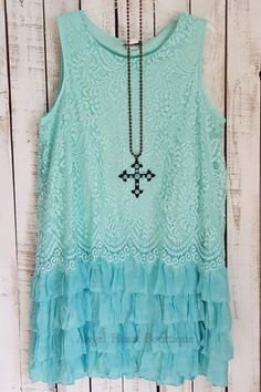 Easy To Love Tunic - Mint