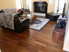 Engineered Hardwood Floors - Engineered Hardwood Handscraped Distressed Collection Acacia Natural