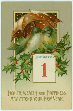Happy New Year Baby, Vintage Happy New Year, Happy New Year Cards, Happy New Year 2019, New Year Wishes, New Year Greetings, Vintage Christmas Images, Vintage Holiday, Vintage Greeting Cards