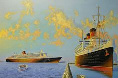 James Flood. QUEEN MARY. J. Russell Jinishian Gallery, Inc.