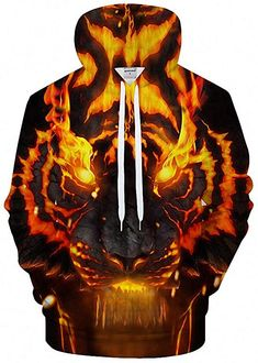 Tiger Hoodie, Sweat Shirt, Sweat Cool, Cool Hoodies, Colorful Hoodies, Mode Style, Mens Sweatshirts, Pulls, Plus Size Outfits