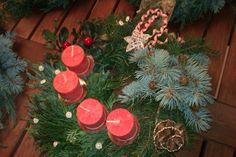 vánoční věnec 1