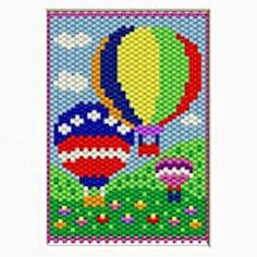 beaded banner patterns - Google Search