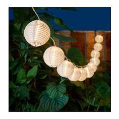 IKEA - SOLVINDEN, Decoration for light chain,