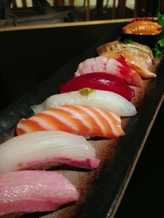 I could eat sushi every day!