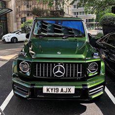 Mercedes-Benz G Class Mercedes Jeep, Mercedes Benz G Class, Sports Car Photos, Cool Sports Cars, My Dream Car, Dream Cars, Automobile, Fancy Cars, G Wagon
