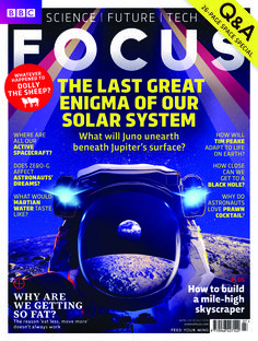 On sale from today! The latest issue of BBC Focus Magazine, featuring a space-themed Q&A special. Plus the top 10 weirdest things evolution left in your body. www.sciencefocus.com