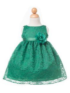 4694e0189 Laura Ashley London Girls  Baby Mint Point Desprit Dress