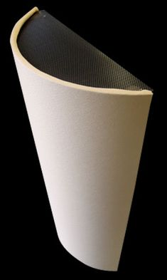 It's a Diffusor! Diffuses mid–to–high frequencies, proved to minimize flat–surface reflection problems by broadly and evenly scattering sound energy. It's an Absorber! Includes a diaphragmatic mid–bass absorber It's a Bass Trap! It can include a built–in Mass–Loaded Vinyl (MLV) membrane low–bass trap for corners.