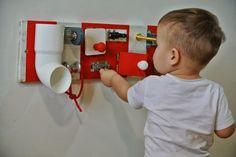 Control Panel Busy Board | Oy Boy!