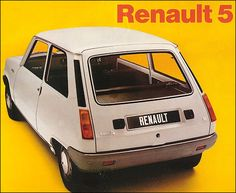 Influx admire the Renault 5 on it's anniversary, ranging from the standard car it started as to the Group B rally car, a car of versatile practicality. Carros Retro, Volkswagen, Nissan Infiniti, Retro Ads, Motor Car, Peugeot, Cars And Motorcycles, Vintage Cars, Classic Cars