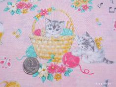 Japanese Fabric  QUILT GATE  Dear Little World by KawaiiMeow, $7.50