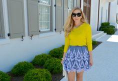 Eyelet Skirt
