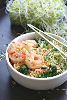 Quick Sesame Shrimp