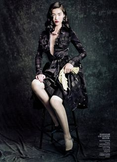 Liu Wen by Paolo Roversi for Vogue China September 2010, Dream Away 03