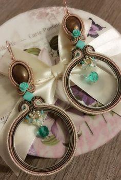 Soutache earrings by KIMA