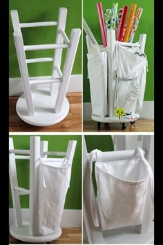 Up-cycle bar stool. A must do