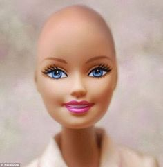Mattel to produce Bald Barbie,  after cancer victim's story inspired an FB campaign