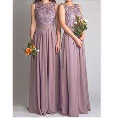 Bridesmaid dress, Sexy Floor Length Chiffon and