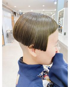 Short Bob Hairstyles, Haircuts, Shaved Nape, Hair Models, Shaving, Bangs, How To Look Better, Hair Styles, Instagram