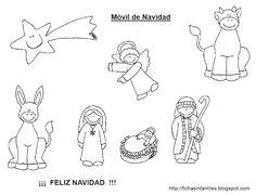 resultado de imagen para fichas infantiles de navidad