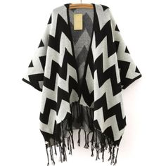 chevron cardigan| $10.17  hipster street style street fashion fachin cardigan jacket sweater top under20 under30 asia fashion wholesale