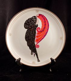Franklin Mint House of Erte Beauty and the Beast by shoenjewelgirl, $30.00