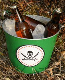 Cubo Cervezas Fiesta Pirata.
