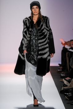 BCBG Max Azria #furlove #leather #sparkle loving the whole neo-luxe-grunge-urban-boho look