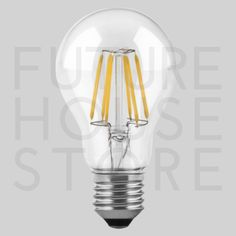 MAX-LED BULB E27 6W FILAMENT WARM WHITE
