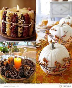 Holiday Decor -- Thanksgiving Decor