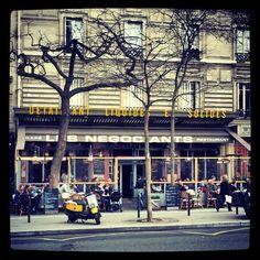 Les Négociants, brasserie, Paris 5e