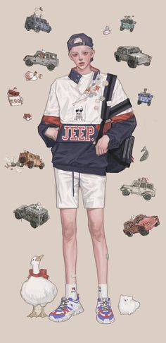 Pretty Art, Cute Art, Character Illustration, Illustration Art, Illustrations, Manga Drawing Tutorials, Cartoon Sketches, Korean Art, Boy Art