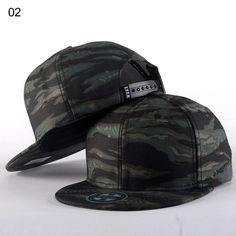 Brand Camouflage Bone Snapback Ladies Hat
