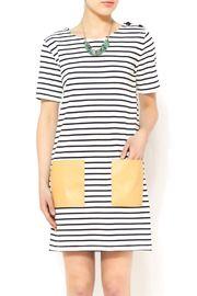 Stripe Tee Dress @ shoptiques.com