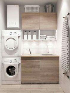 Laundry Room Storage, Laundry Room Design, Kitchen Design, Kitchen Ideas, Diy Kitchen, Kitchen Decor, Bathroom Organization, Makeup Organization, Kitchen Interior