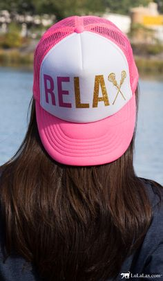 Trucker hats are always in style...especially when they're this adorable! The perfect accessory for your lacrosse girl, exclusively from LuLaLax!