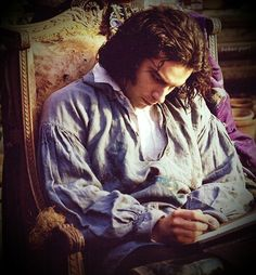 Aiden Turner as Dante Gabriel Rosetti - moody, dreamy and can paint/write poetry.....