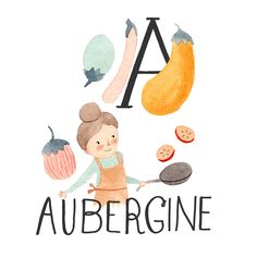 Food Alphabet | Julianna Swaney