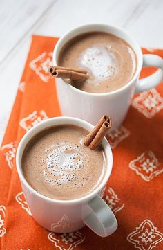 Rich and creamy, this pumpkin hot chocolate tastes like hot cocoa and pumpkin pie had a baby. (The scandal!) But unlike regular hot cocoa and pumpkin pie, this tasty treat won't wreck your diet. In fact, this steamy cup of satisfaction could be your healthiest chocolate fix ever. I mean, not only does it have…