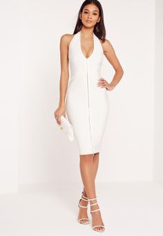https://www.missguidedus.com/shop-by-trend/whites/premium-zip-front-bandage-midi-dress-white