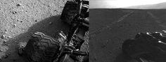 Mars rover – Curiosity rolls more