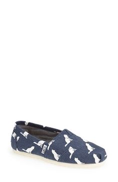 TOMS 'Classic - Fox' Slip-On (Nordstrom Exclusive)(Women) available at #Nordstrom