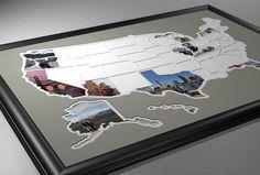 50 States Photo Map - USA