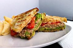 Avocado-Tuna Panini