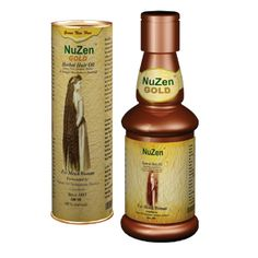 It's a Miracle Oil; Nuzen Herbal Authentic Ayurvedic Indian Formula promotes new hair growth within 10-12 weeks (5 Bottles Course) Nuzen Gold is a Remedy for Hair Loss, that intensively nourishes bolding scalp and stimulates hair follicles which in turn starts growing healthy hair without any side effects. Nuzen Gold is a safe, healthy & completely natural remedy to control hair loss.