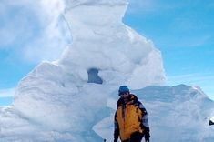 Ice Towers of Mount Erebus, AntarcticaAntarctica's Mount Erebus, an active volcano that rises 12,448 feet (3,794 meters) above the Earth's surface, is home to giant, hollow towers of ice. These form when fumaroles — cracks in the Earth's crust that vent hot gas — spew steam into the open air, which is so cold in the Antarctic that it freezes the steam in place, creating chimneys up to 30 feet